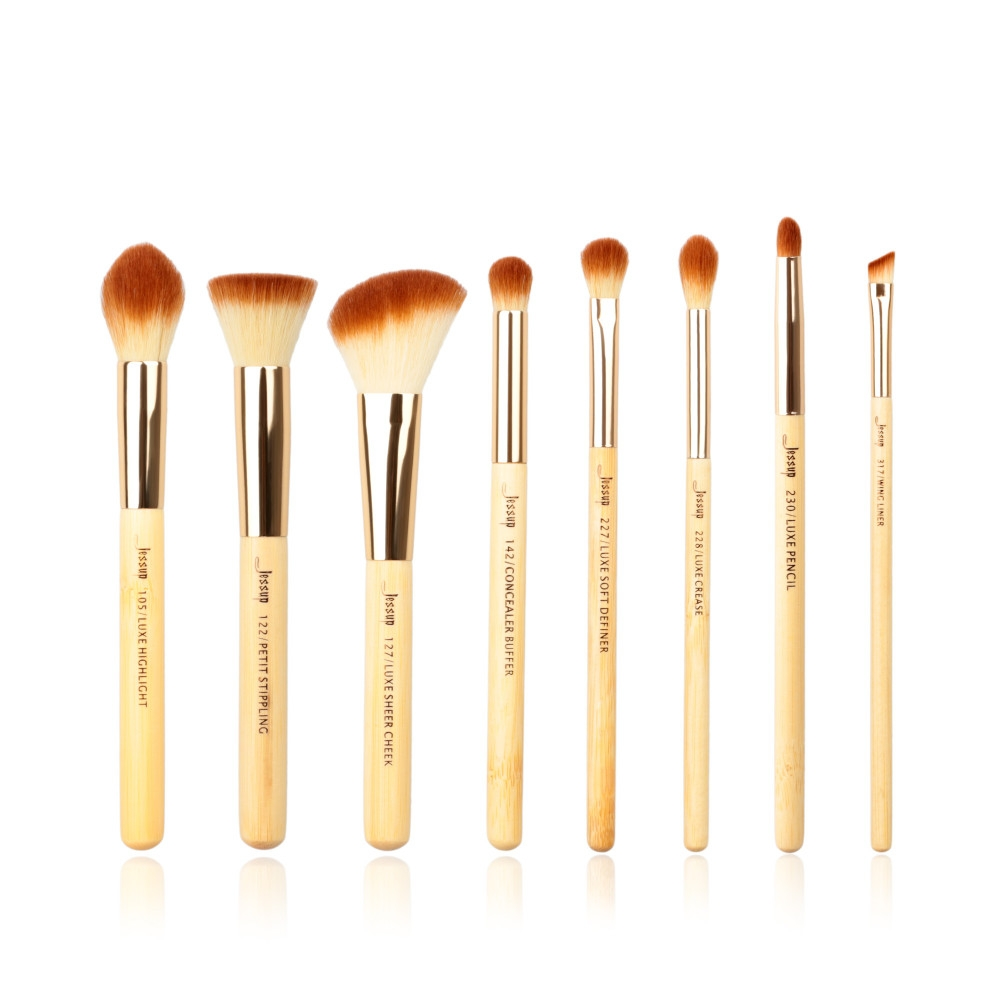 Pensula de make-up Fiber Foundation Stipple Powder Blush 803