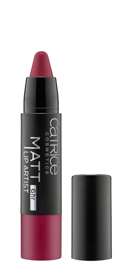 catrice lippenstift matt 6hr lip artist 60 merl oh pink panda. Black Bedroom Furniture Sets. Home Design Ideas