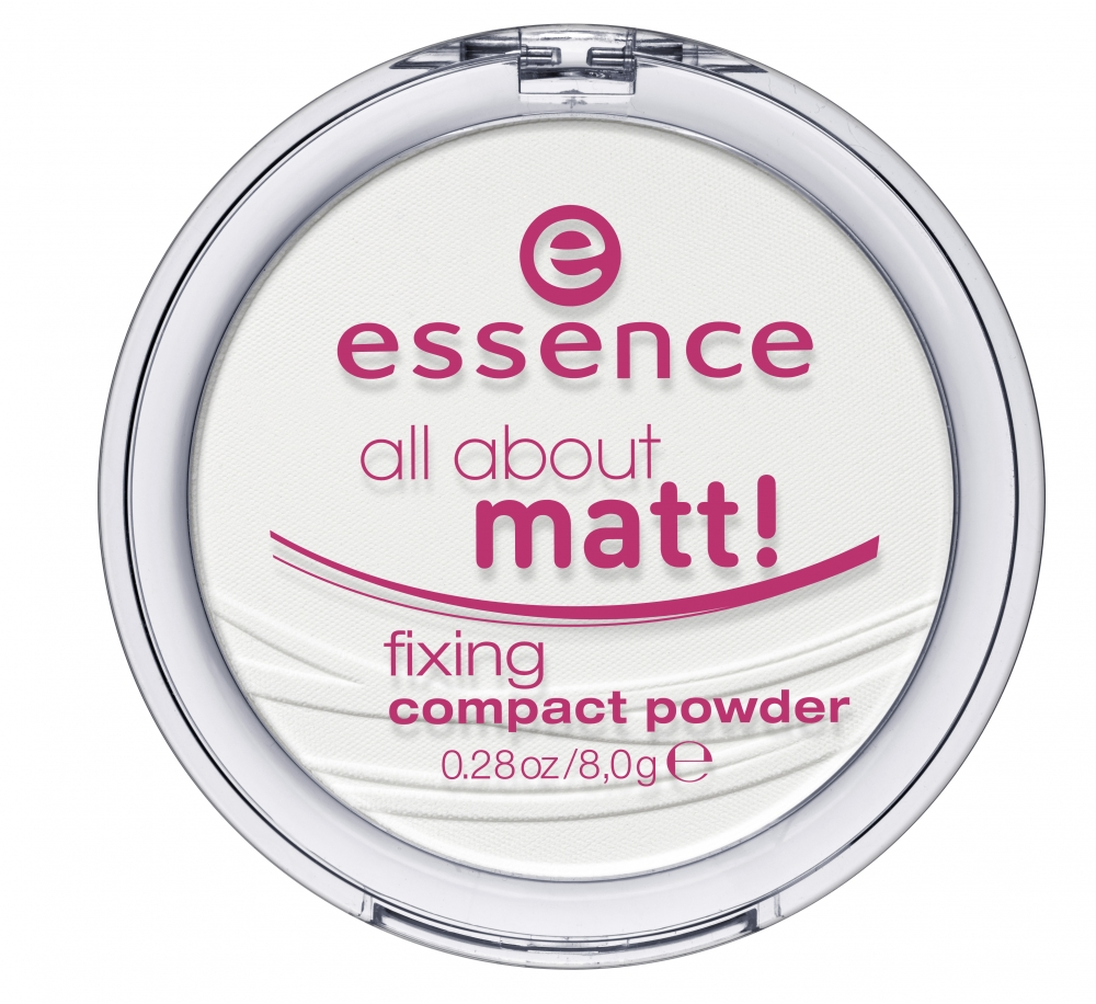 essence All About Matt! Fixing Compact Powder fixáló kompakt púder