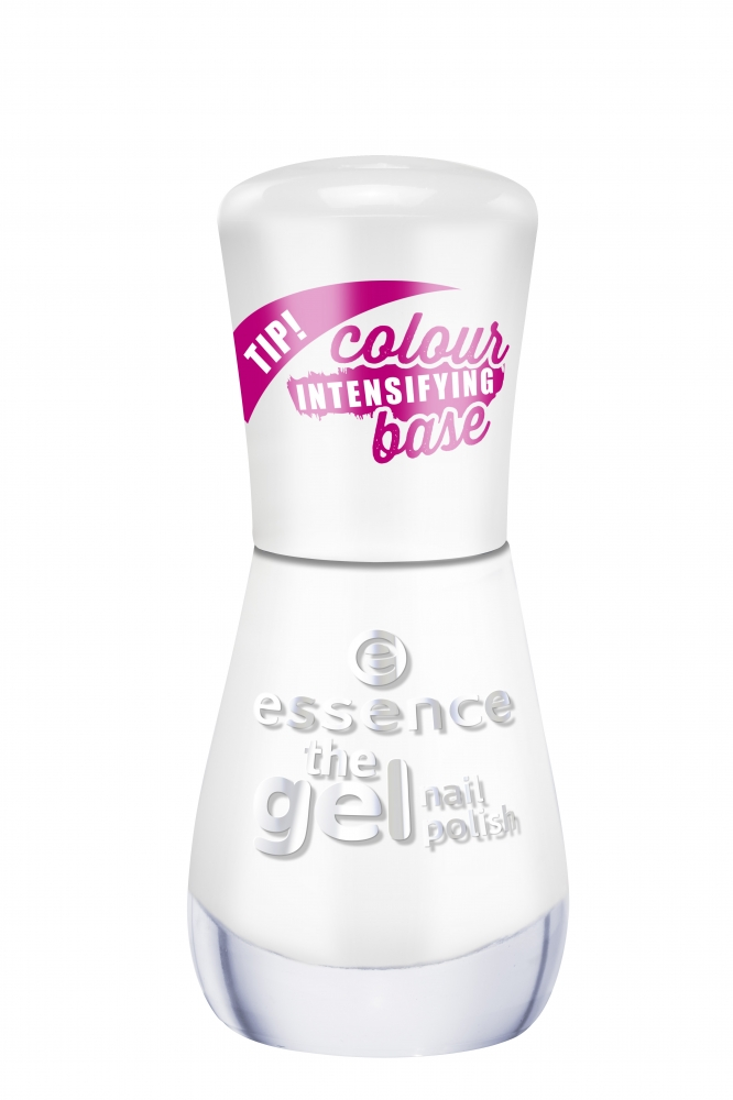 essence lak na nechty The Gel Nail Polish - 33 Wild White Ways