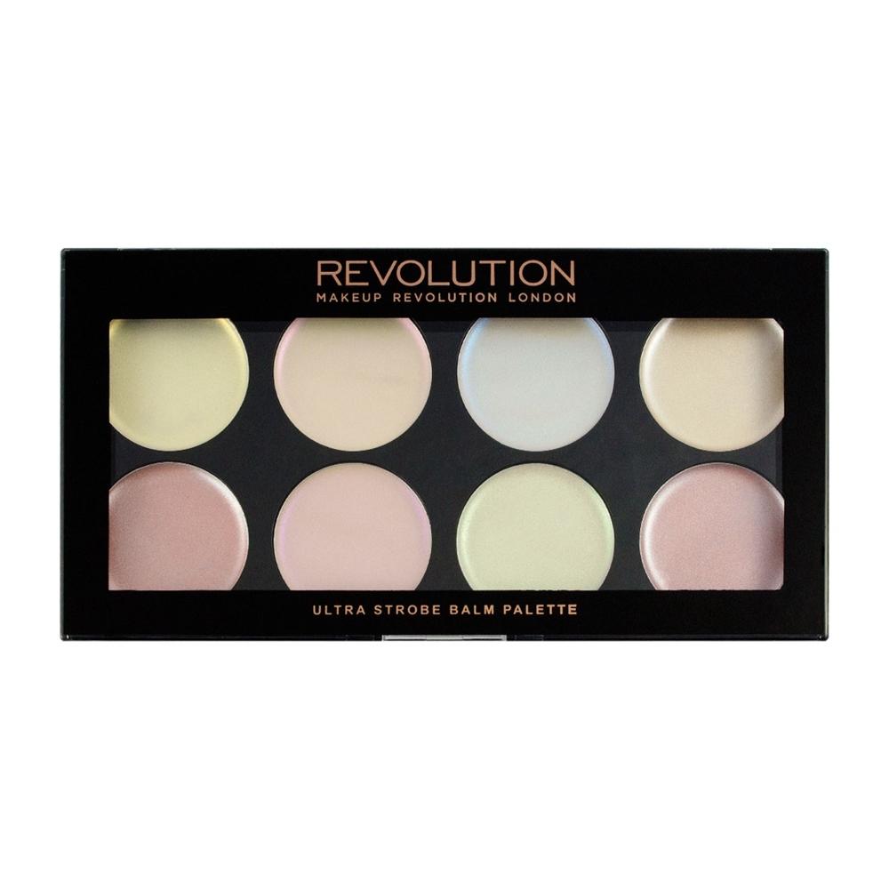 makeup revolution highlighter palette ultra strobe balm. Black Bedroom Furniture Sets. Home Design Ideas