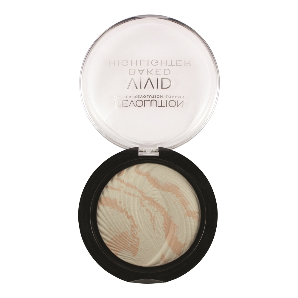 Makeup Revolution iluminator compact - Baked Highlighter Matte Lights