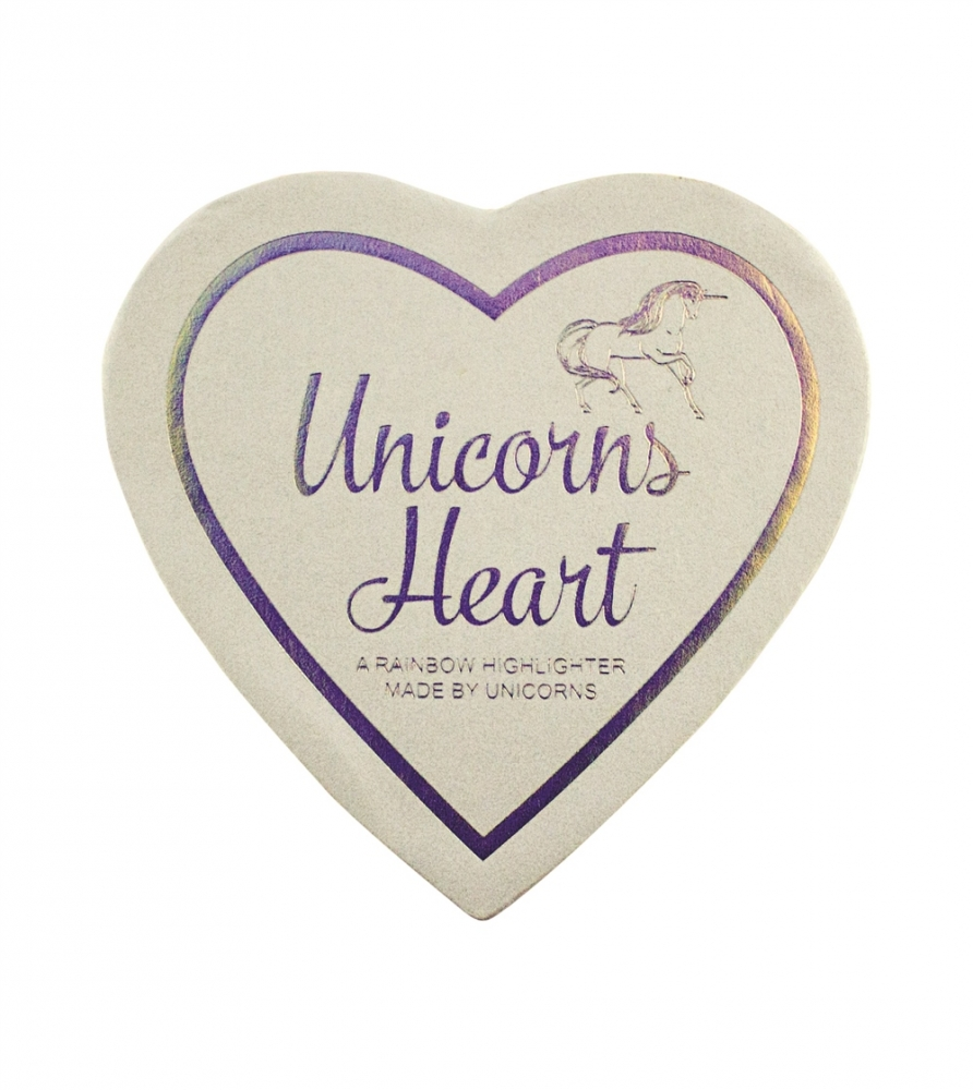 I Heart Makeup highlighter -  Unicorns Heart