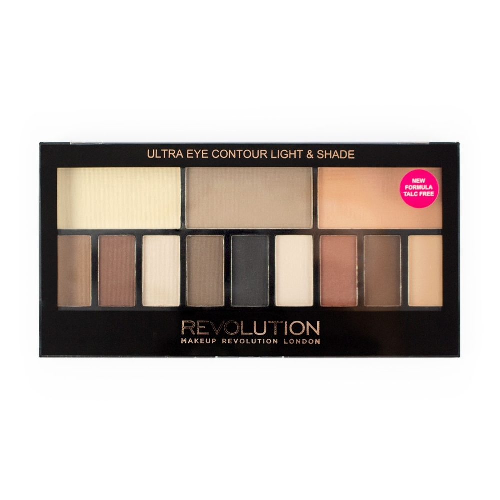 Revolution paleta mat sjenila - Ultra Eye Contour - Light and Shade