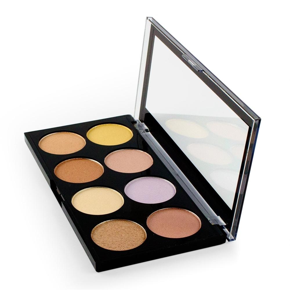 makeup revolution highlighter palette ultra strobe and. Black Bedroom Furniture Sets. Home Design Ideas