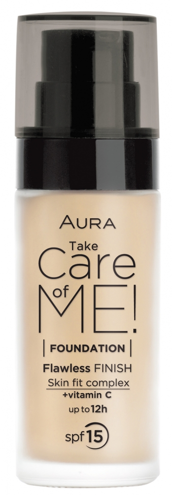 Aura tekutý make-up - Liquid Foundation Take Care Of Me Light Beige (4135)