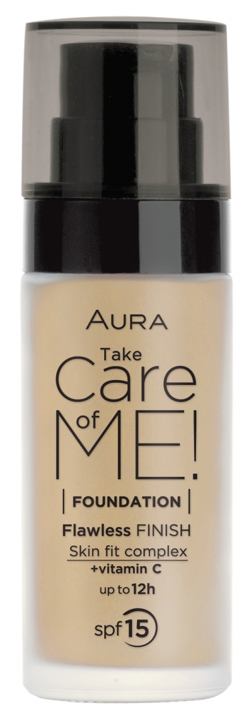 Aura tekoči puder - Liquid Foundation Take Care Of Me Natural (4142)