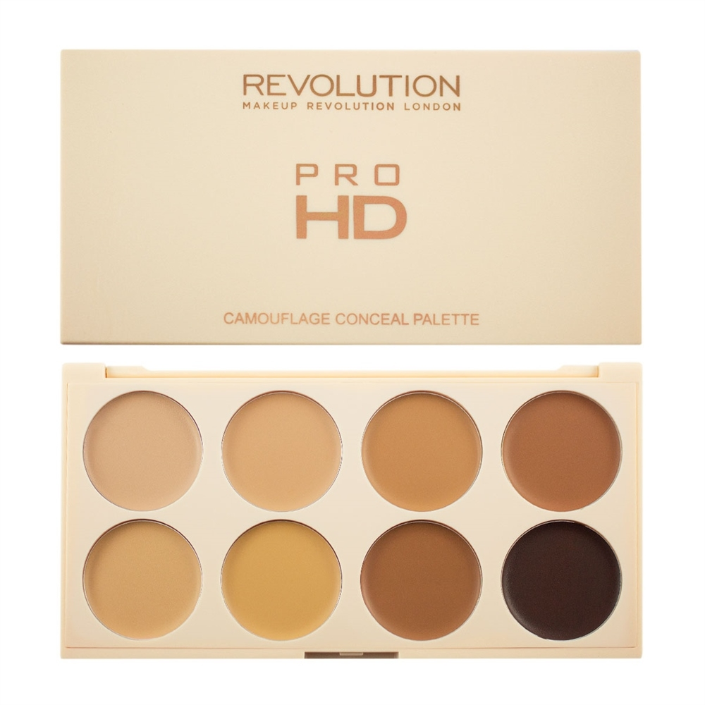 Makeup Revolution paleta korektora - Ultra Pro HD Camouflage Medium Dark