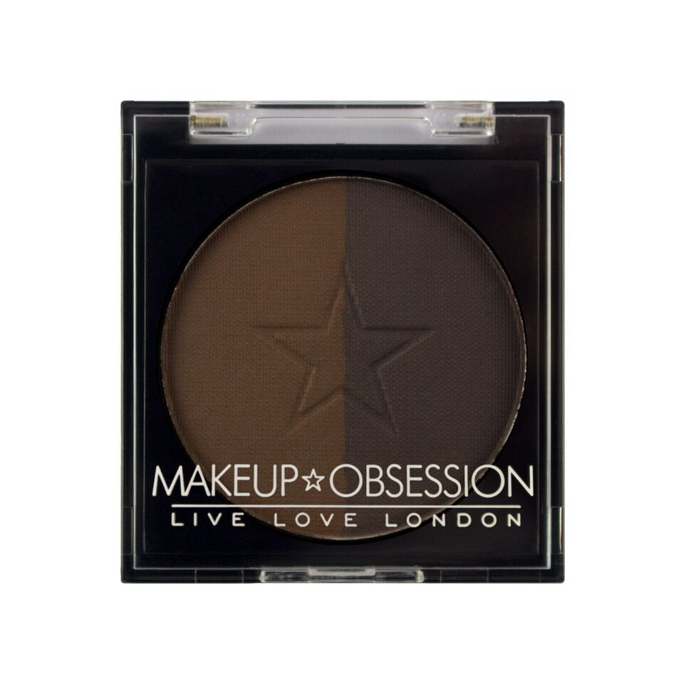 Makeup Obsession puder za obrve - Brow Duo BR109 Ebony