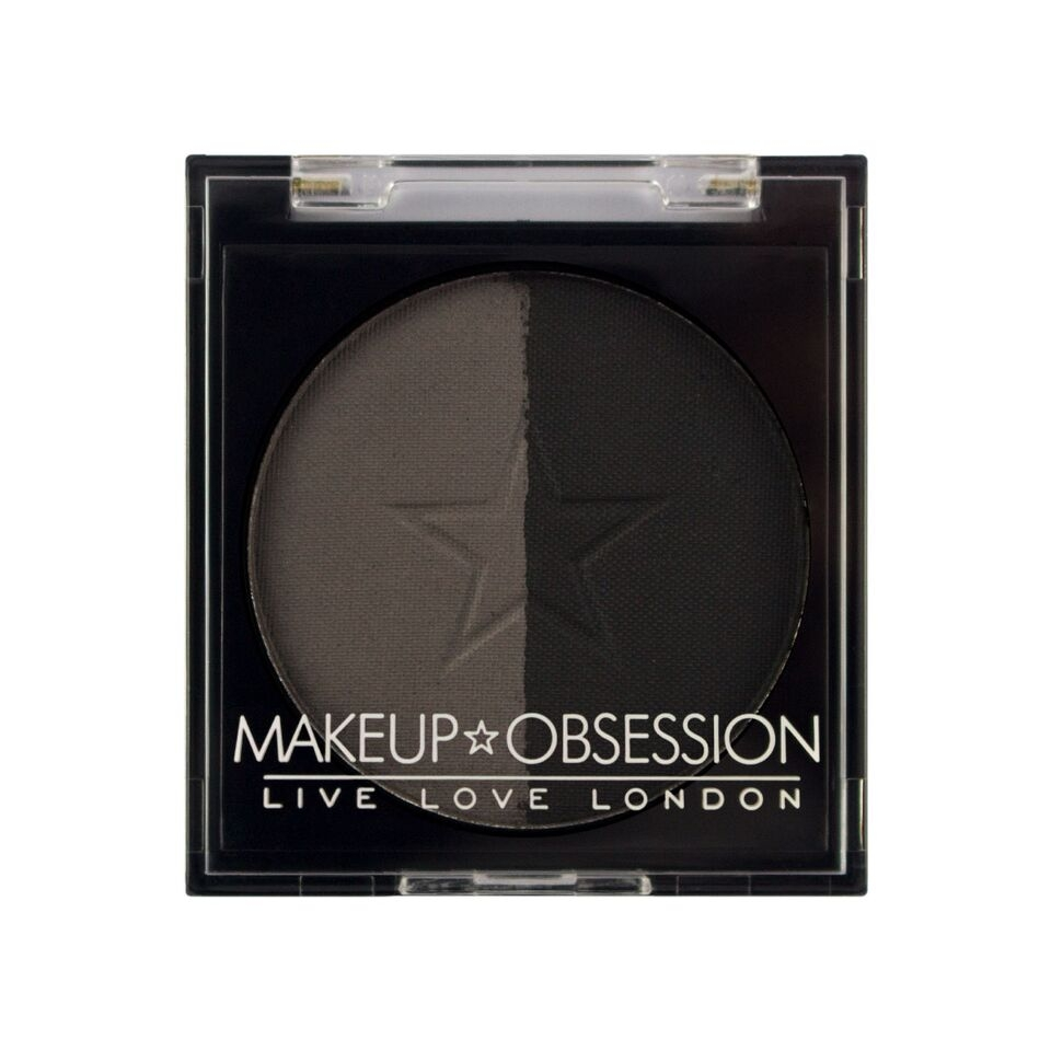 Makeup Obsession puder za obrve - Brow Duo BR110 Granite