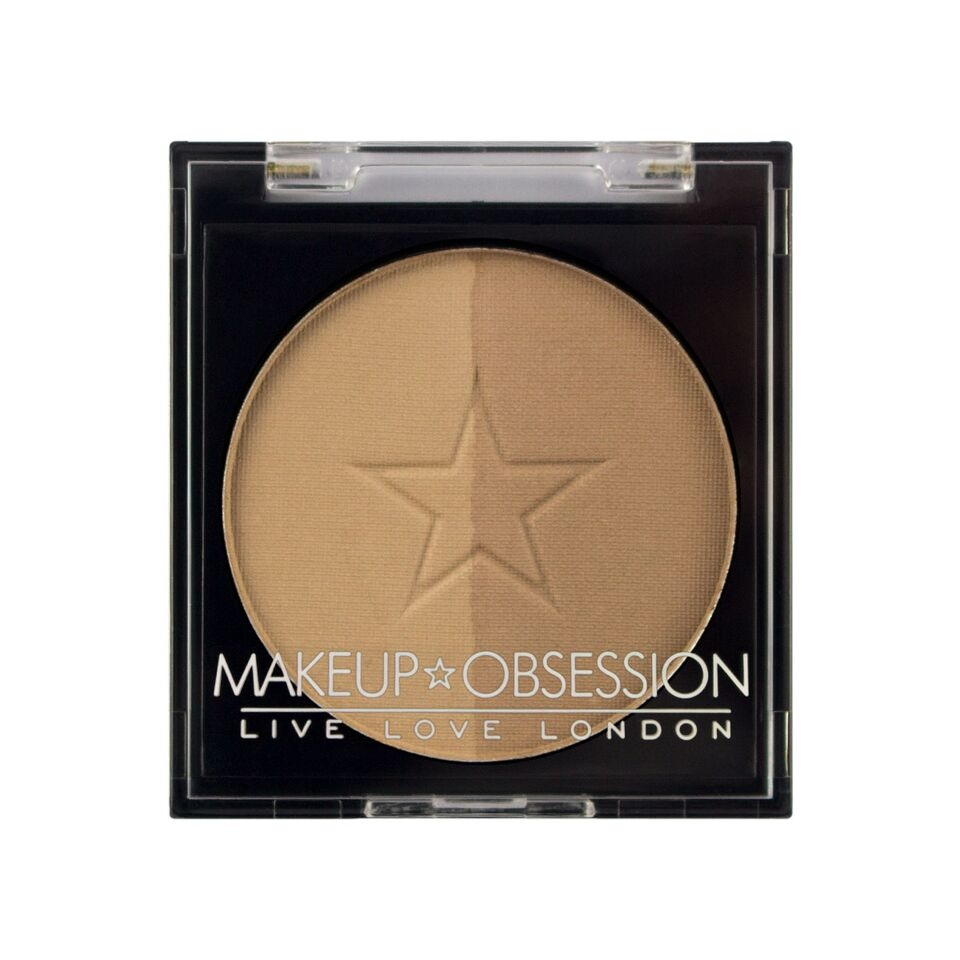 Makeup Obsession puder za obrvi - Brow Duo BR102 Taupe