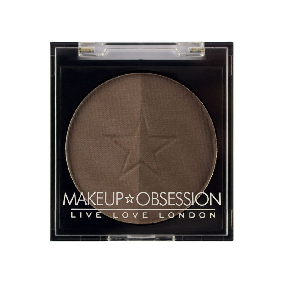 Makeup Obsession puder za obrvi - Brow Duo BR103 Ash Brown