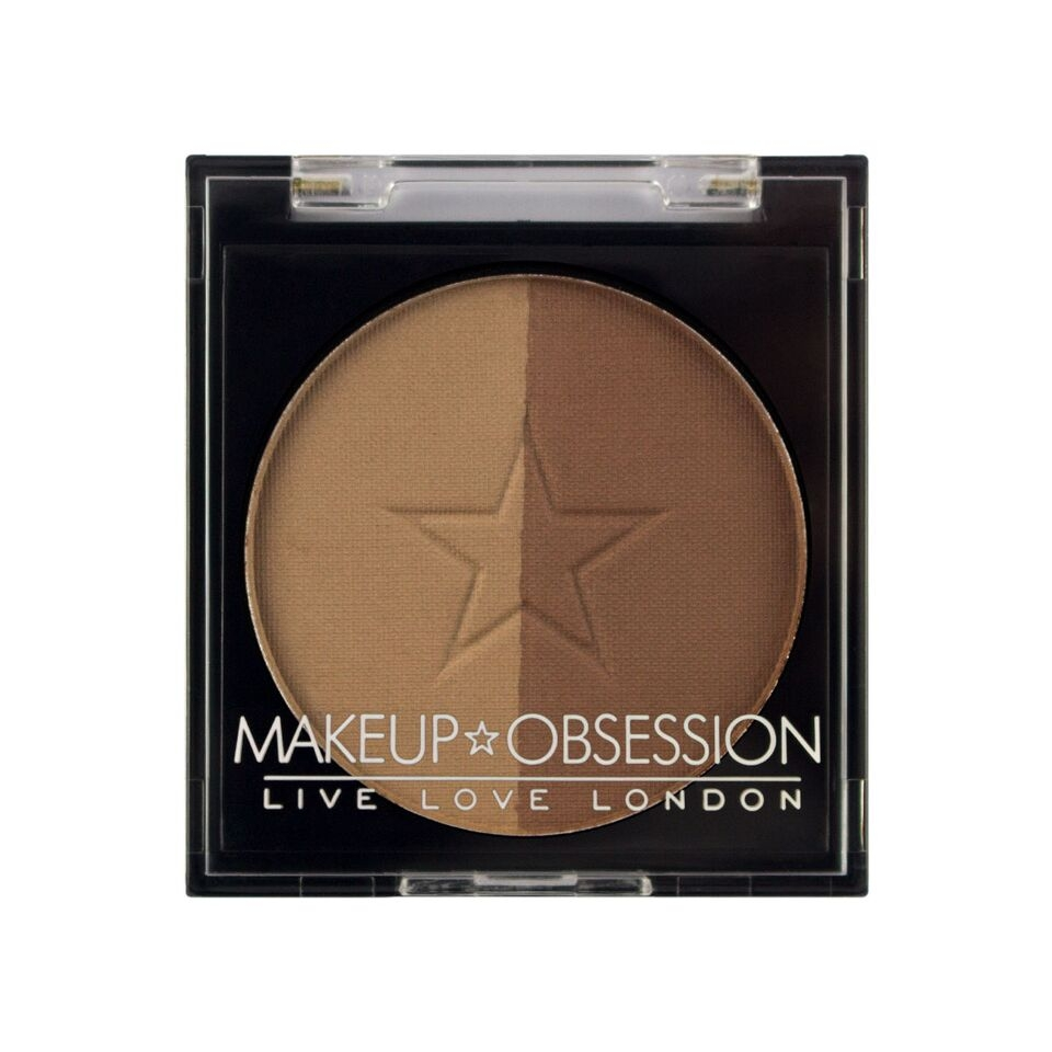 Makeup Obsession puder za obrvi - Brow Duo BR104 Soft Brown