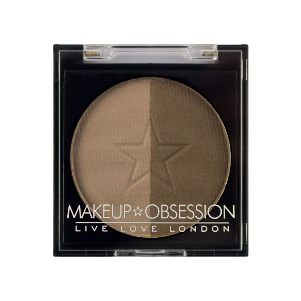 Makeup Obsession puder za obrvi - Brow Duo BR105 Medium Brown