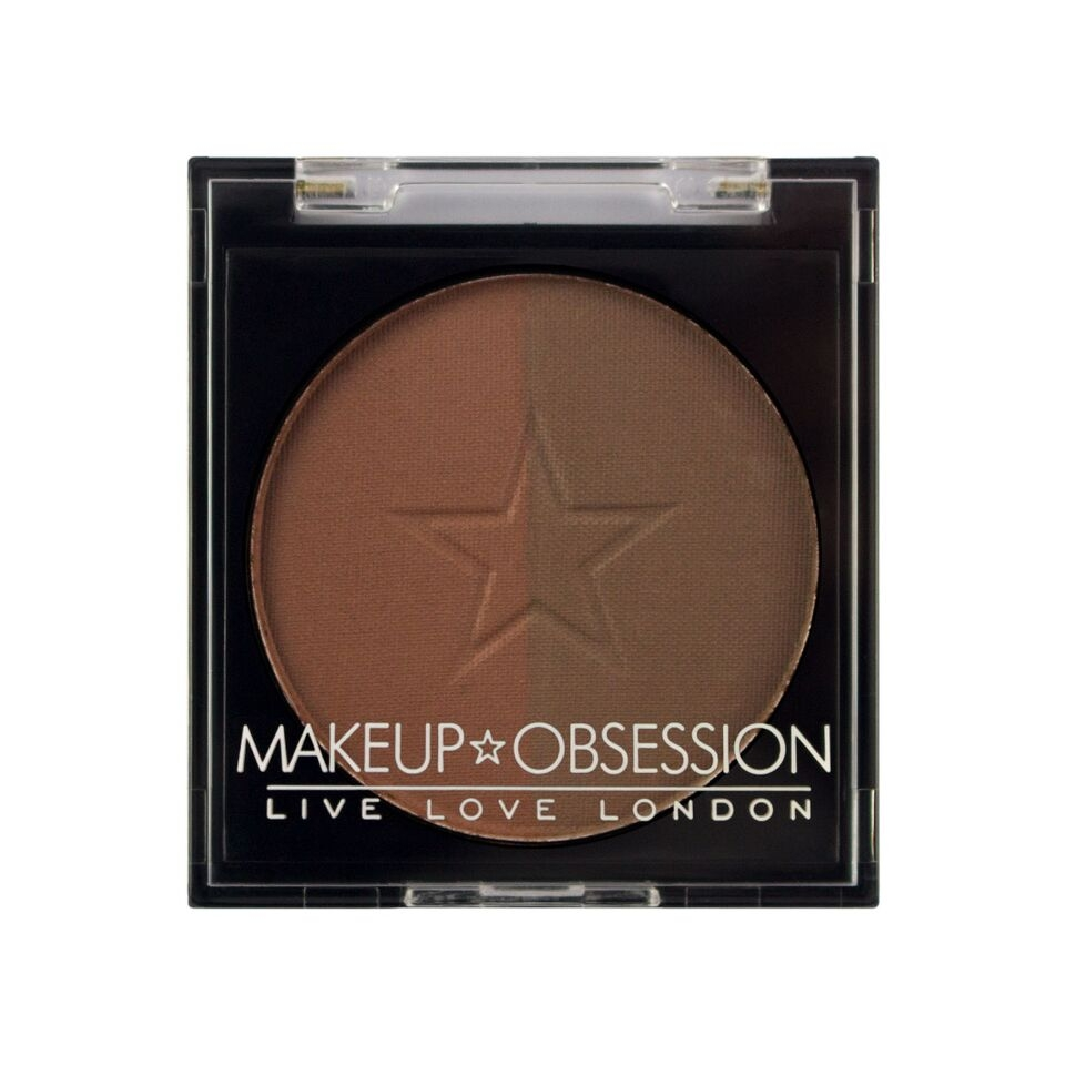 Makeup Obsession puder za obrve - Brow Duo BR108 Auburn