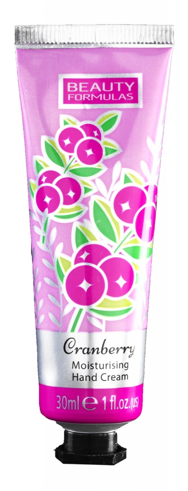 Beauty Formulas crema de maini - Hand Cream 30 ml (88571-2) Cranberry