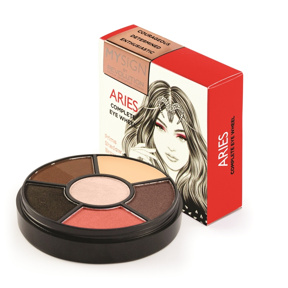 Makeup Revolution paleta sjenila - My Sign Complete Eye Base - Aries