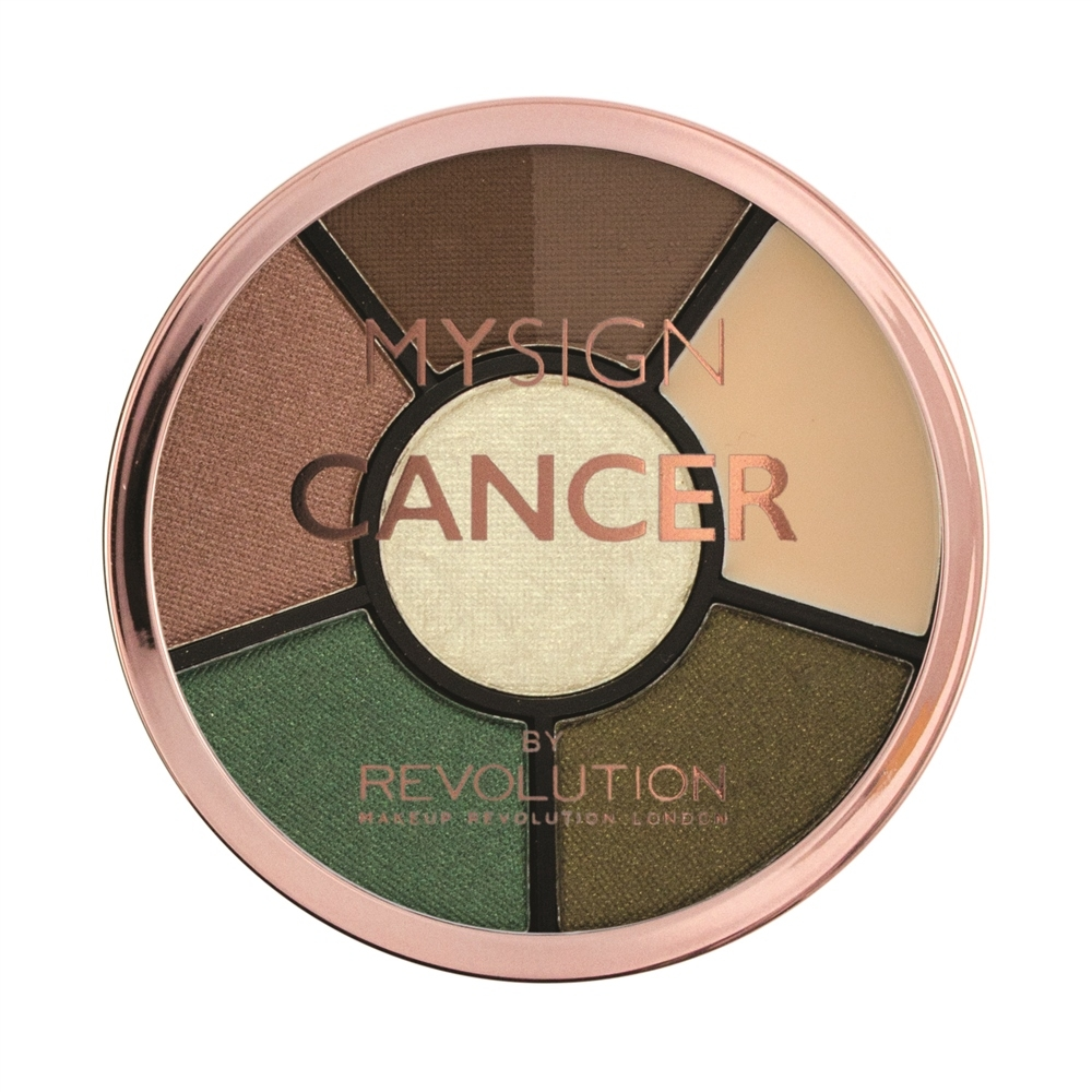 Makeup Revolution paleta sjenila - My Sign Complete Eye Base - Cancer