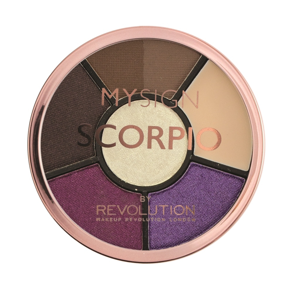 Makeup Revolution paleta sjenila- My Sign Complete Eye Base - Scorpio