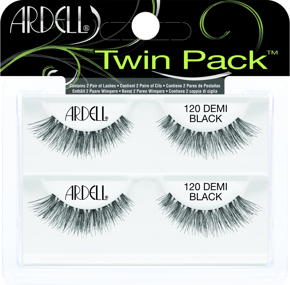 Ardell falsche Wimpern - Perfect Pair Twin Pack - Twin Pack Lash #120 Black (61772)