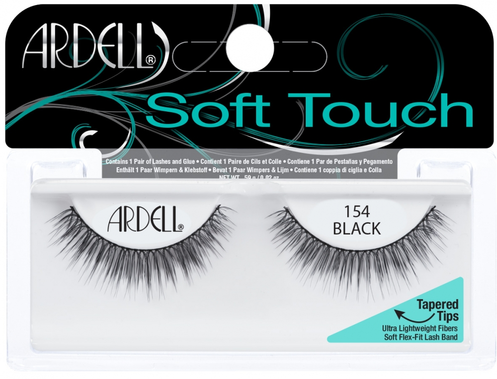 95a21869981 Ardell Soft Touch Lashes #154, Ardell Soft Touch Lashes Collection - Madame  Madeline Lashes