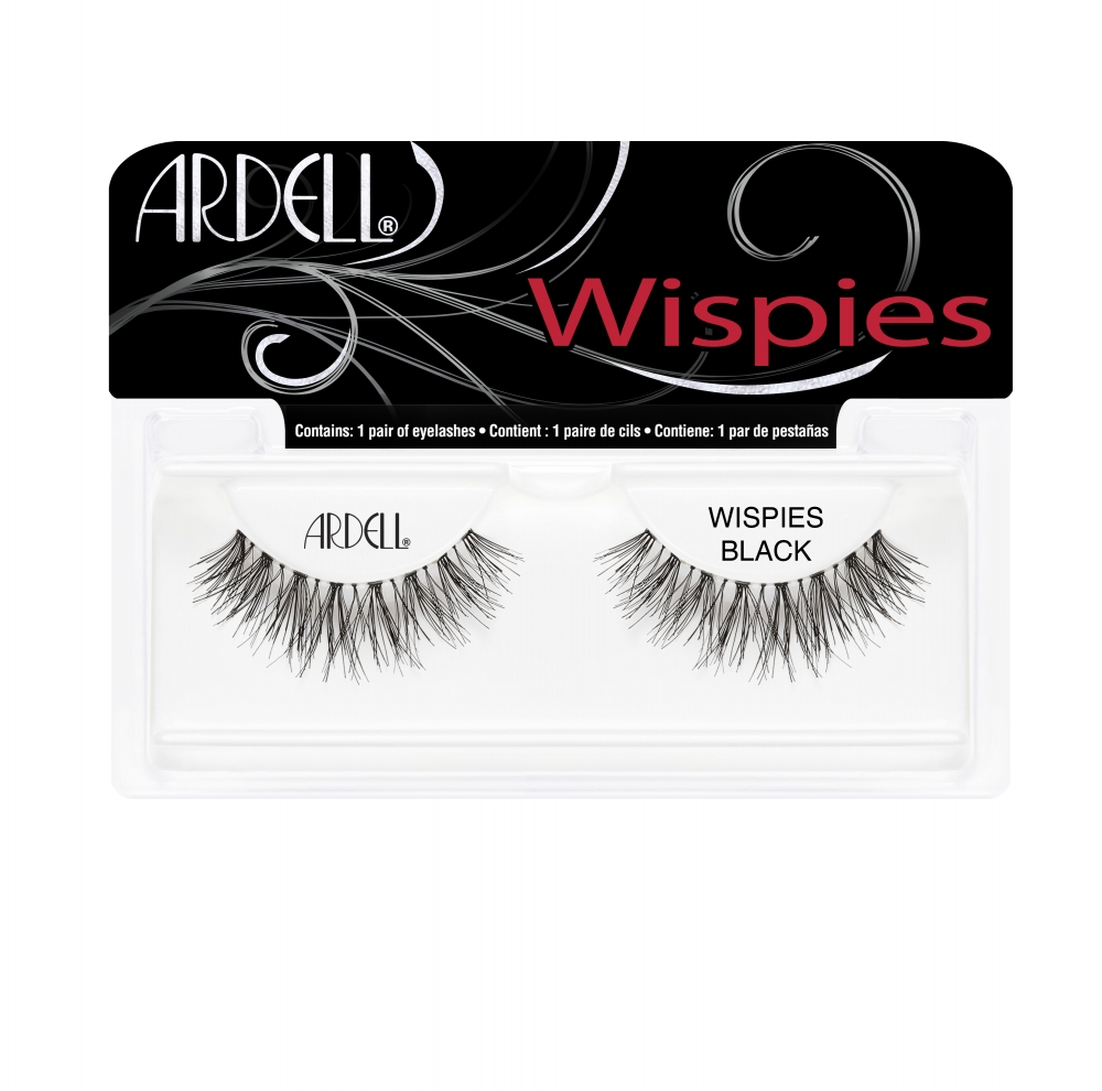 Ardell ciglia finte - Wispies - 810 Wispies Invisibands Black (63810)