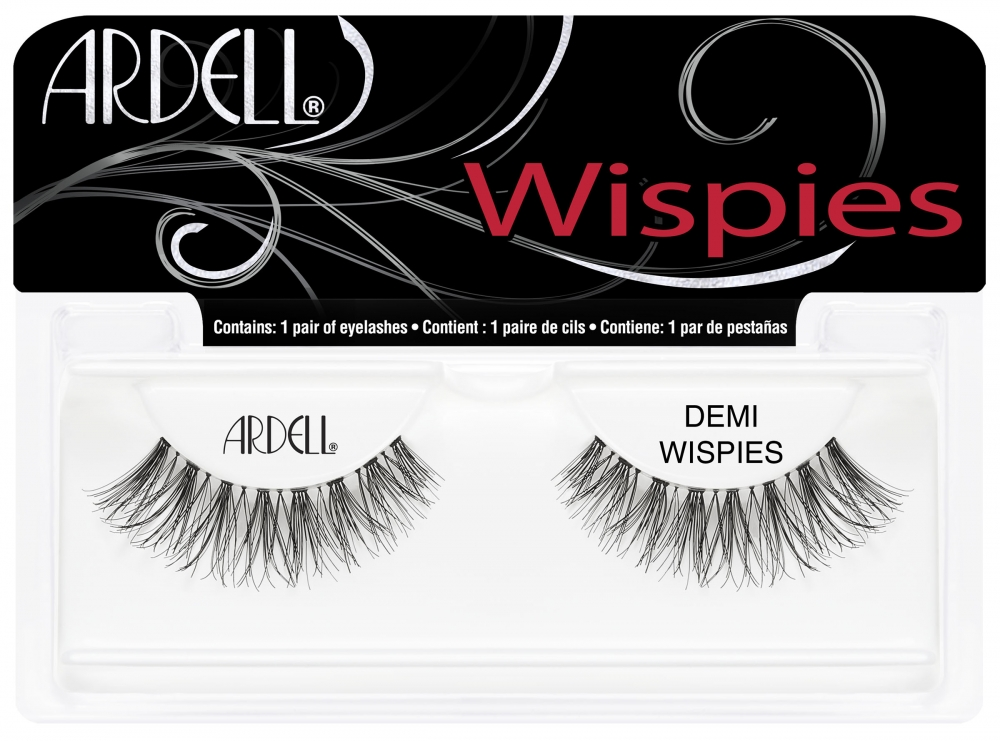 Ardell ciglia finte - Wispies - Wispies Invisibands Black (64110)