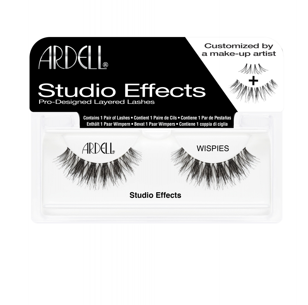 Ardell ciglia finte - Studio Effects Lashes Black - Wispies (65246)