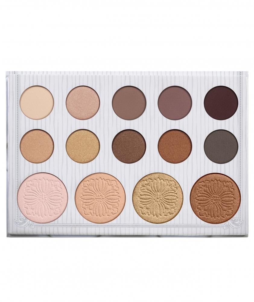 BH Cosmetics paleta 14 sjenila i highlightera - Carli Bybel  - 14 Color Eyeshadow & Highlighter Palette