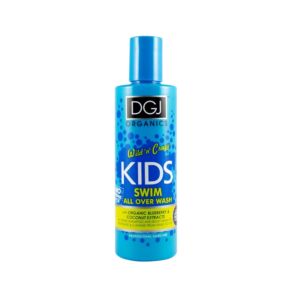DGJ Organics Haarshampoo für Kinder - Swim Shampoo & Body Wash 250ml