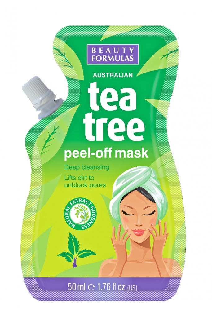 Beauty Formulas maska s čajovníkom - Tea Tree Peel Off Mask 50 ml (88532)