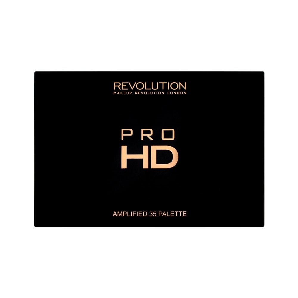 Makeup Revolution paleta 35 tieňov - Pro HD Palette Shimmer Amplified 35 - Direction