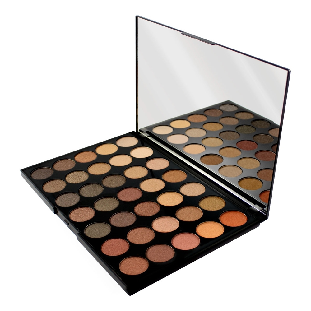 Makeup Revolution Pro HD Palette Shimmer Amplified 35 szemhéjpúder paletta - Direction