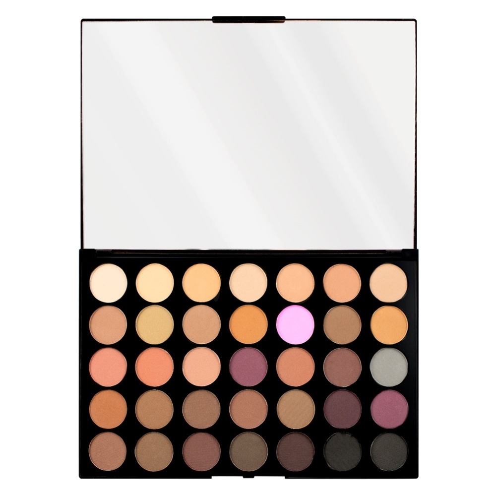 Makeup Revolution Pro HD Palette Amplified 35 szemhéjpúder paletta - Neutrals Cool