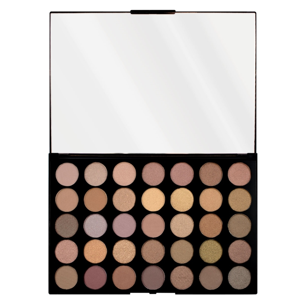 Makeup Revolution palette di 35 ombretti - Pro HD Palette Matte Amplified 35 - Commitment
