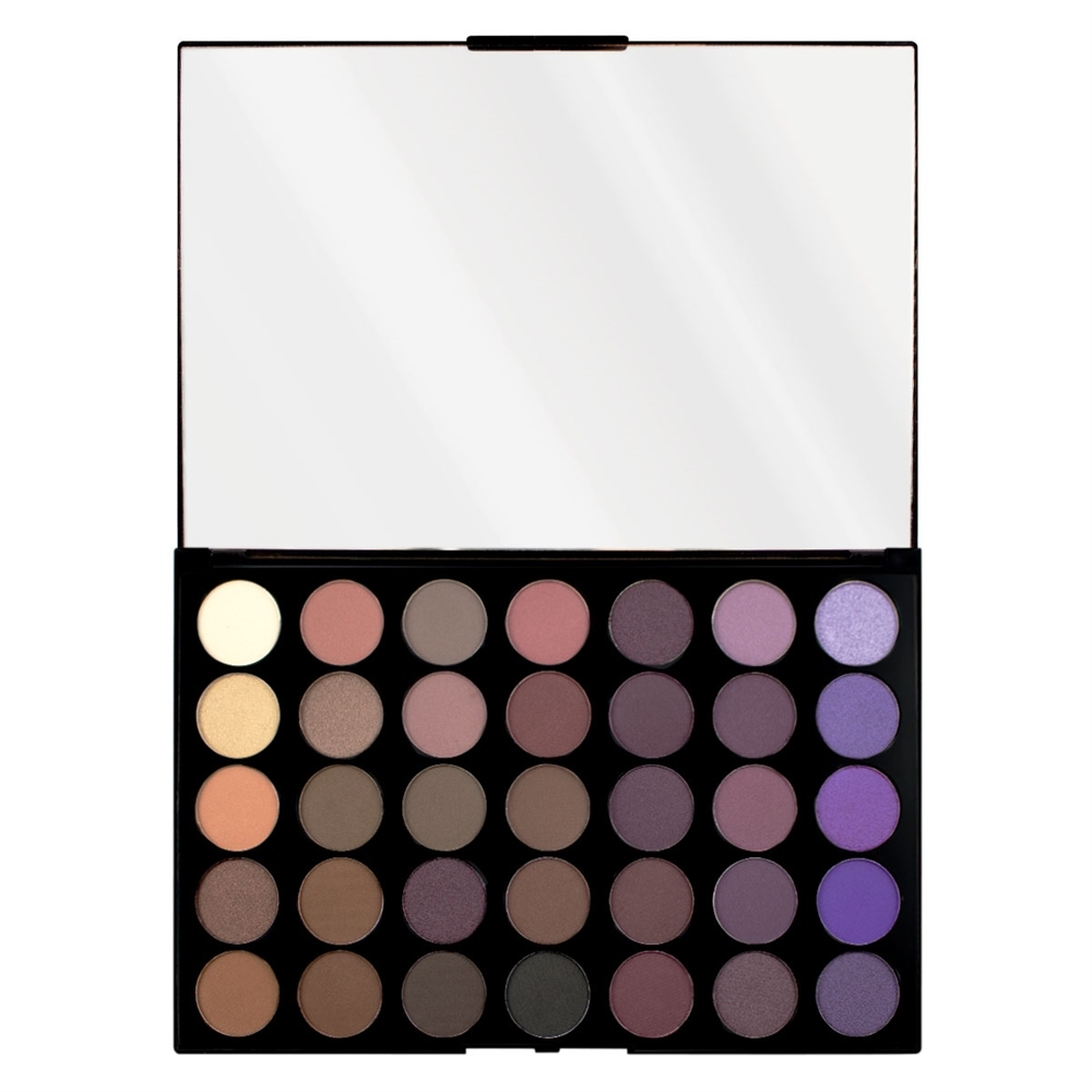 Makeup Revolution paleta 35 stínů - Pro HD Palette Matte Amplified 35 - Dynamic