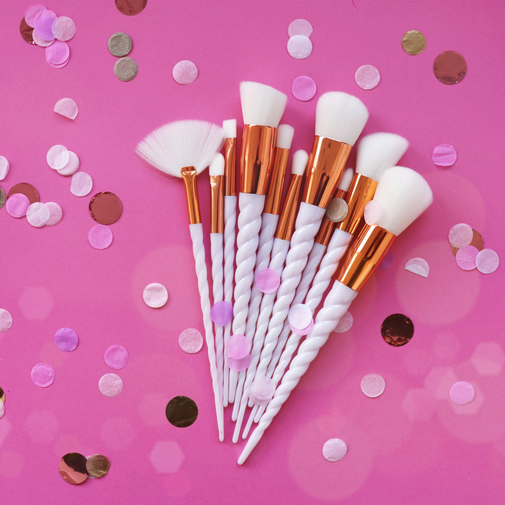 Mayani Design Unicorn Brush Set Spiral ecsetkészlet