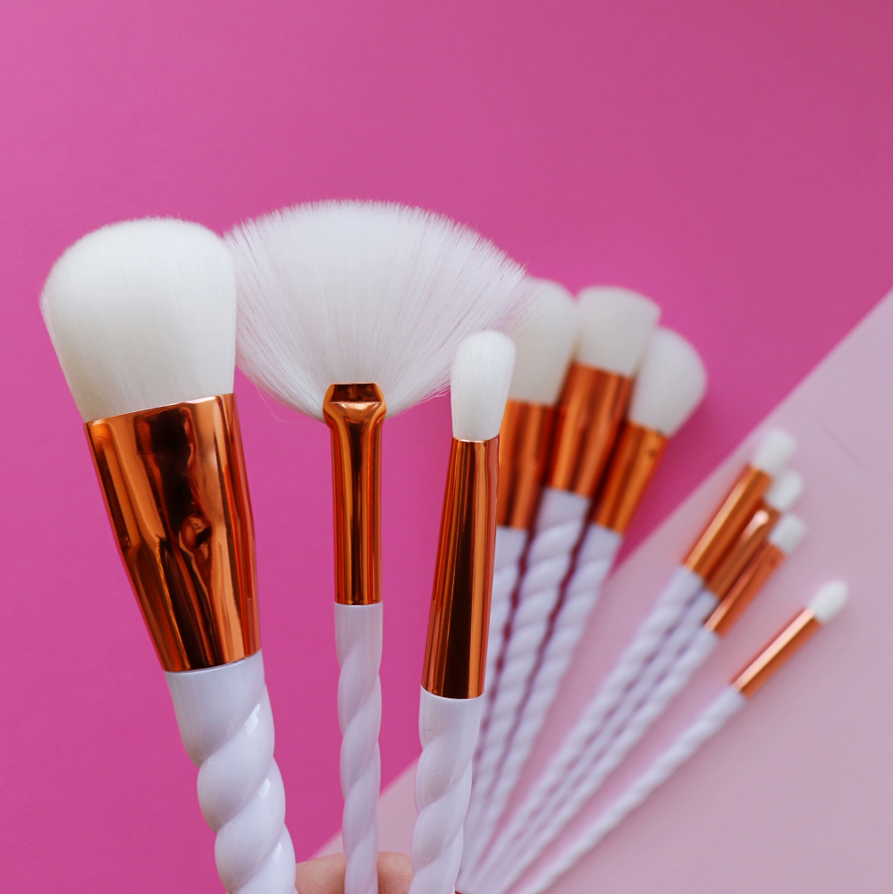Mayani Design set kistova - Unicorn Brush Set Spiral