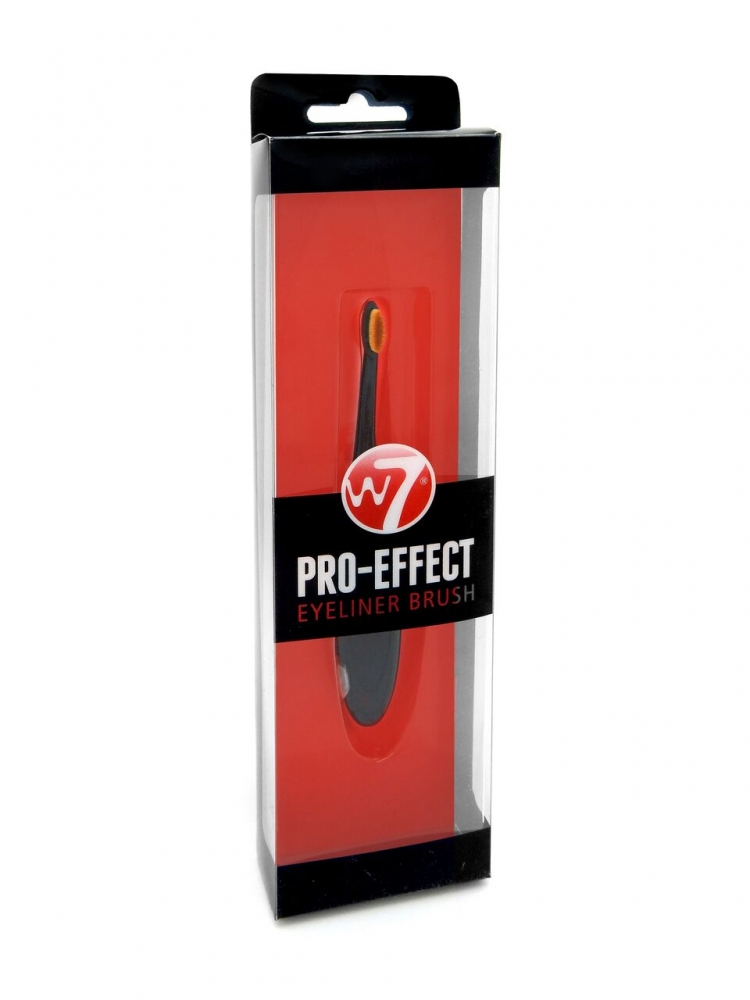 W7 Cosmetics pennello per l'applicazione dell'eyeliner - Pro-Effect Eyeliner Brush