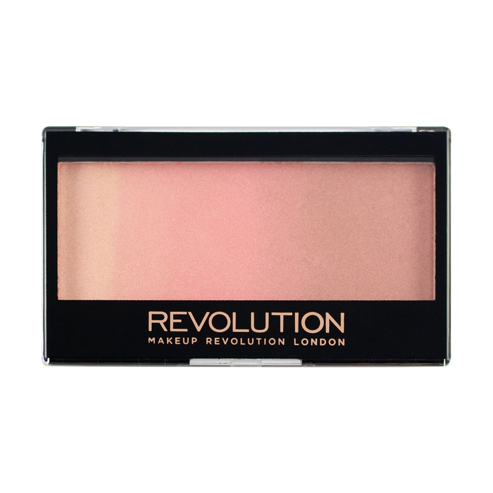 Makeup Revolution kompaktni highligjter - Gradient Highlighter Rose Quartz Light