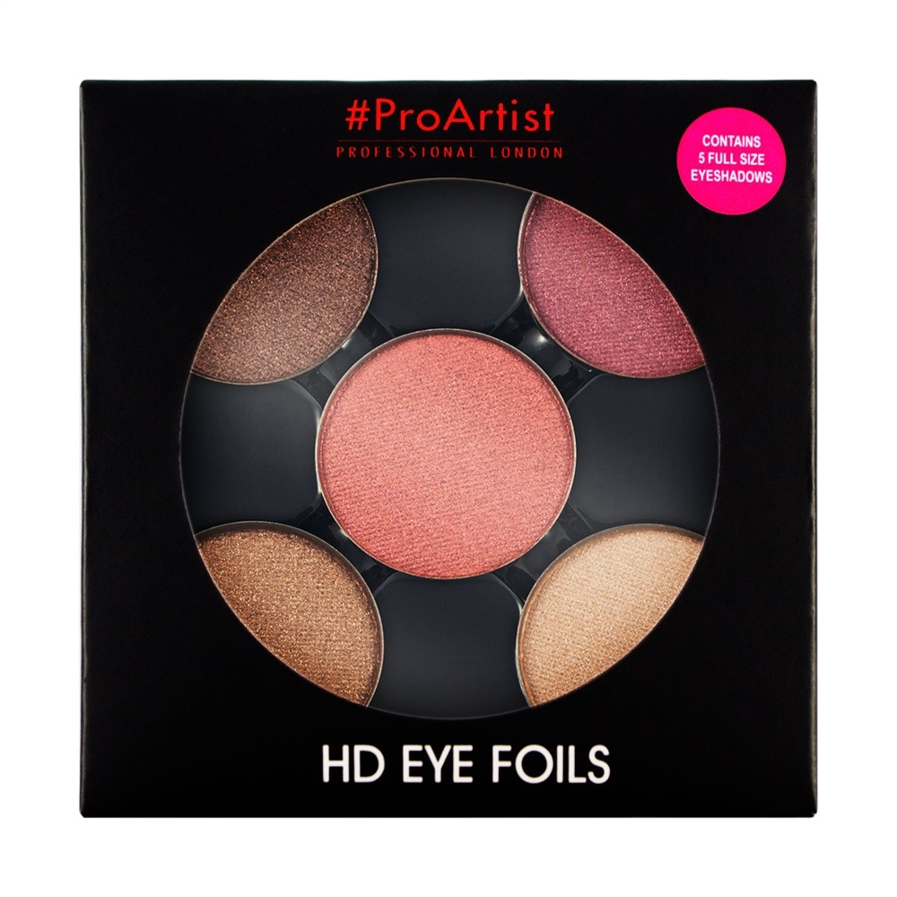 Freedom paleta sjenila - HD Eye Foils Metallic 1