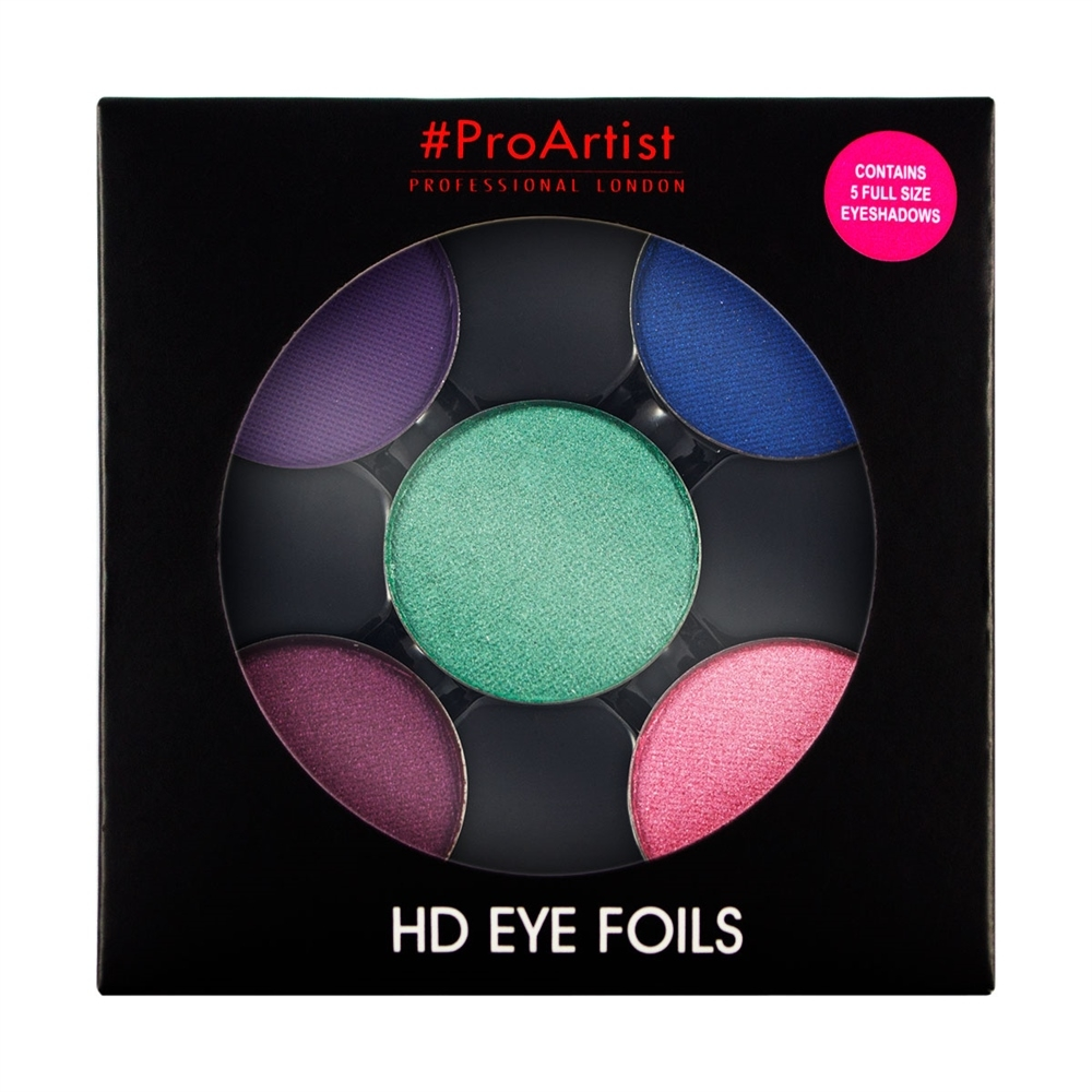 Freedom paleta sjenila - HD Eye Foils Bright 1