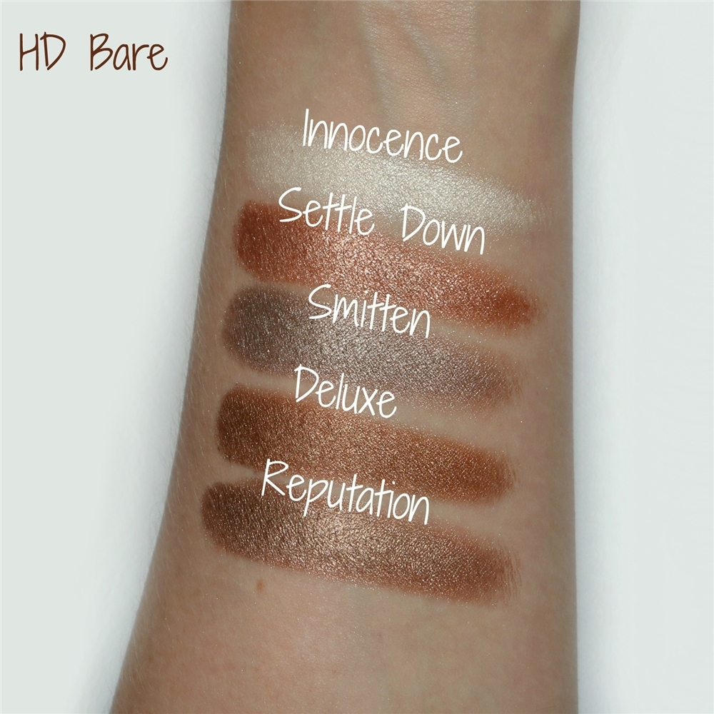 Freedom paleta sjenila - HD Eye Foils Bare