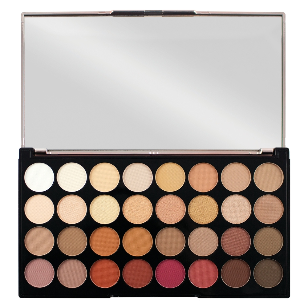 Makeup Revolution Ultra 32 Eyeshadow Palette szemhéjpúder paletta - Flawless 3 Resurrection