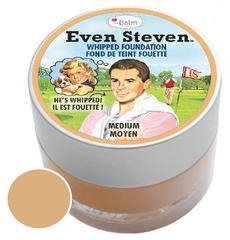 The Balm puder v peni - Even Steven Whipped Foundation - Medium