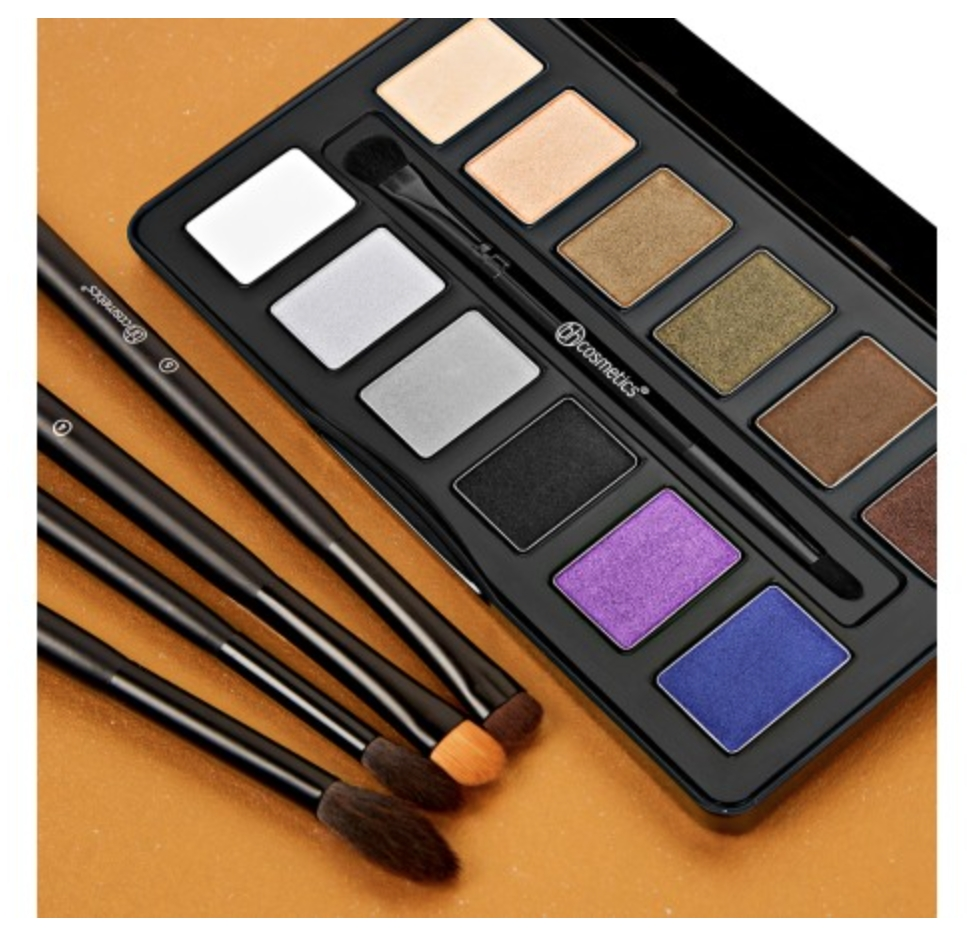 BH Cosmetics Lidschatten-Palette - Nude Rose Night Fall