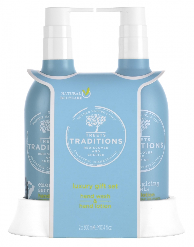 Treets Handpflege-Set - Energising Secrets Luxury Hand Care Set
