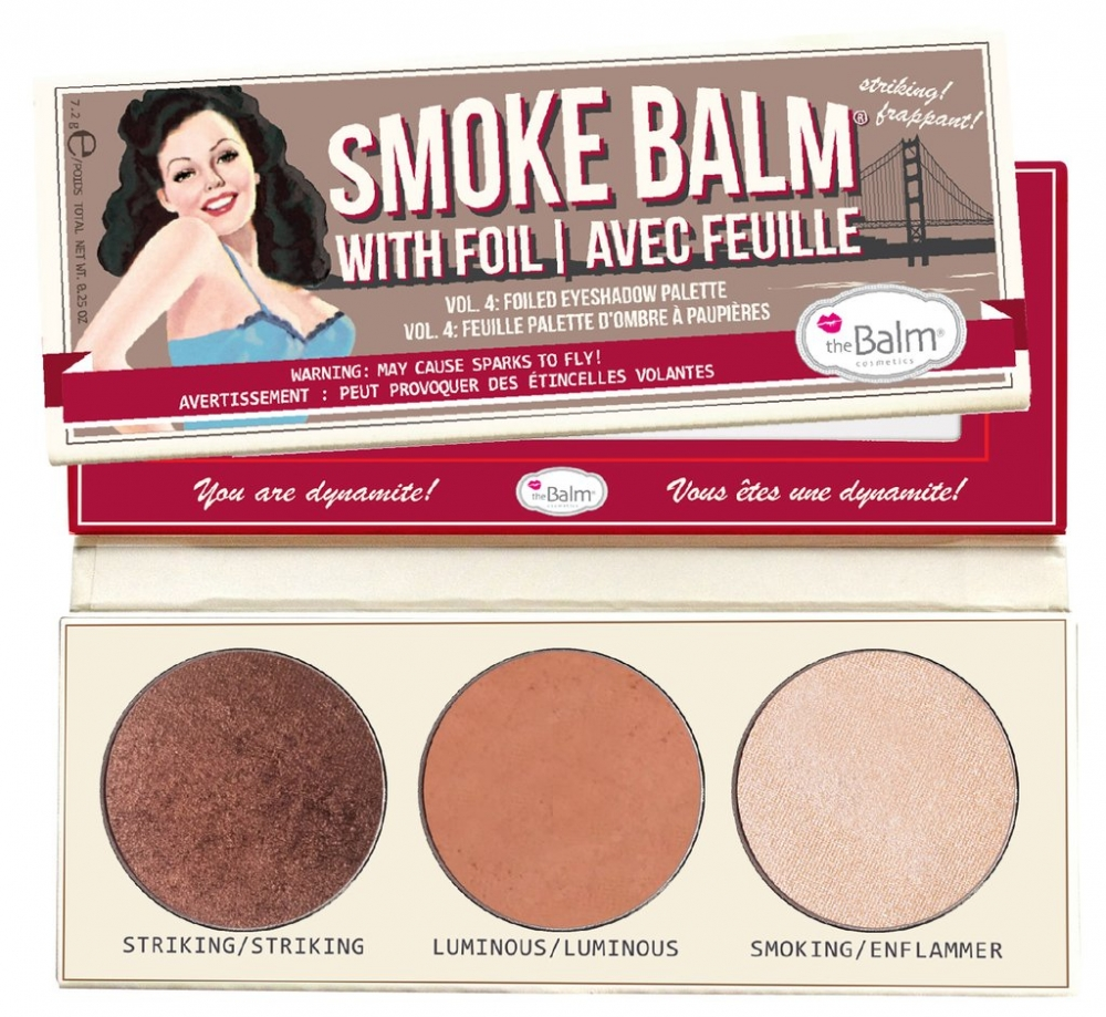 The Balm Lidschattenpalette - SmokeBalm Vol. 4