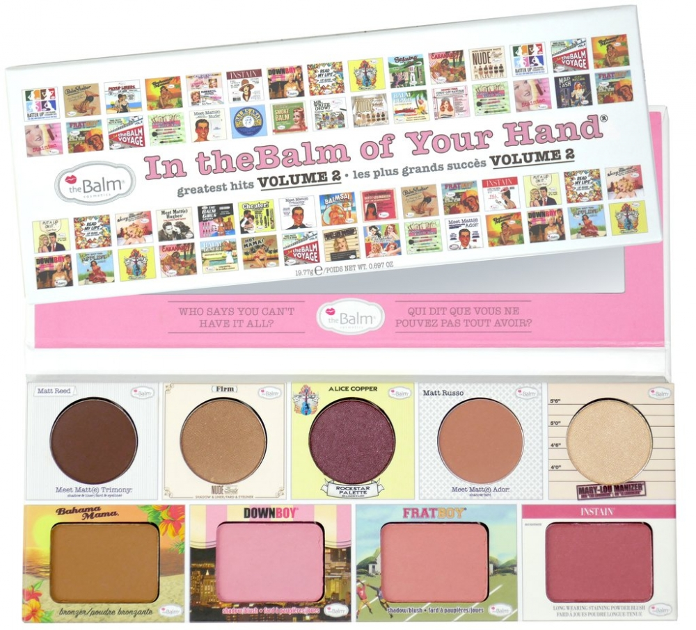 The Balm Rouge und Lidschatten-Palette - In The Balm Of Your Hand