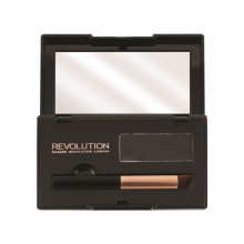 Makeup Revolution puder za prekrivanje lasnega narastka - Root Cover Up Black
